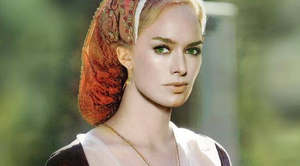 Actress Lena Headey from Game of Thrones, the series hailed a runaway success by HBO