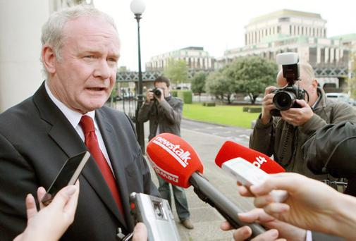 Race for the Park: Martin McGuinness on the campaign trail