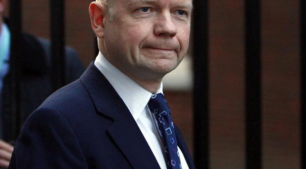 William Hague urged Iran to spare the life of a pastor reportedly facing execution for refusing to recant his Christian faith