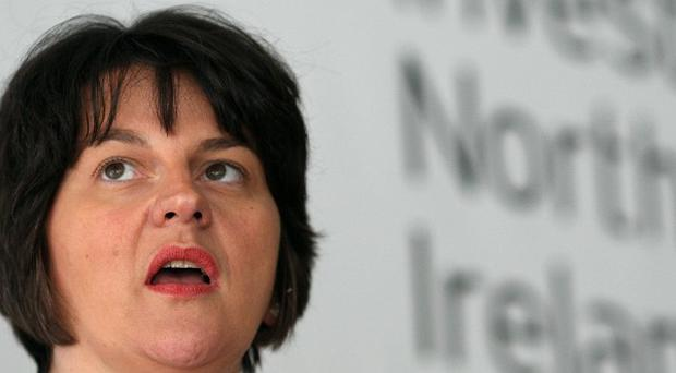 Economy Minister Arlene Foster says the 336 new Capita jobs will eventually mean an extra £5 million a year for the region's economy