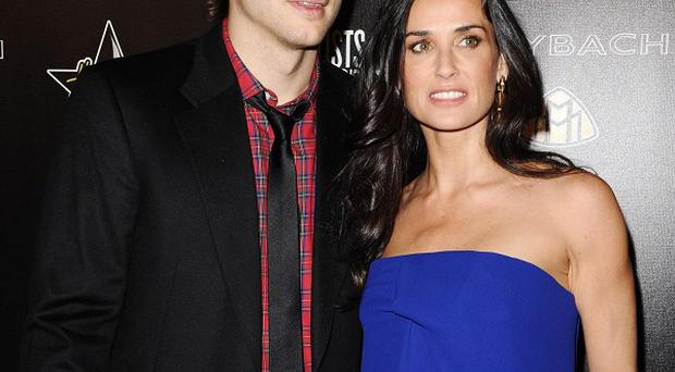 Is Ashton Kutcher and Demi Moore's marriage on the rocks?