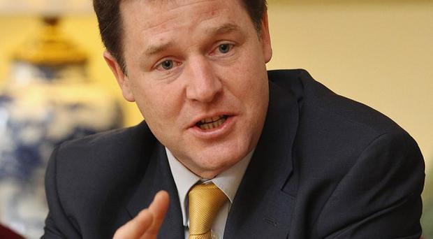 Deputy Prime Minister Nick Clegg has urged Europe to remain united in the face of the eurozone crisis