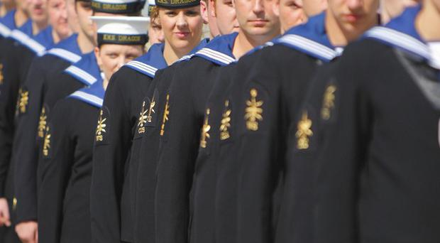 A total of around 1,020 Royal Navy personnel are being made redundant