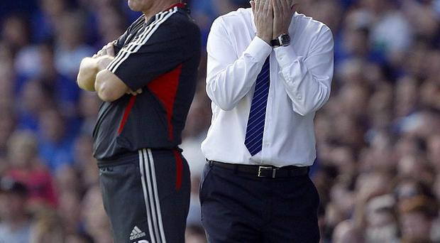 Kenny Dalglish (left) and David Moyes