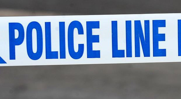A boy aged 13 has been badly injured in a crash involving a police van