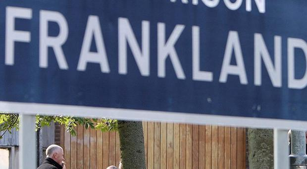 Two men have been charged with the murder of a prisoner at Frankland prison
