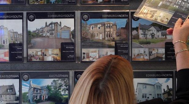 House prices continued to slide last month, figures suggest