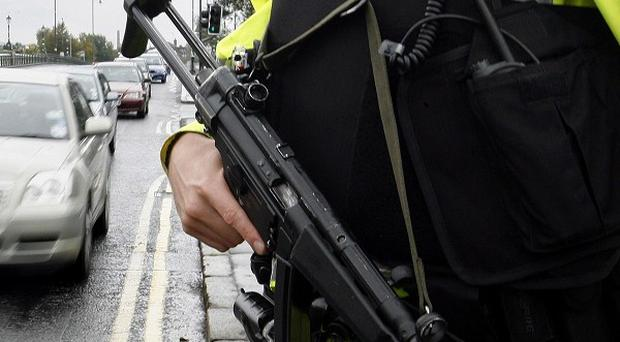 A viable explosive device was discovered in a heavily populated area of Belfast city centre