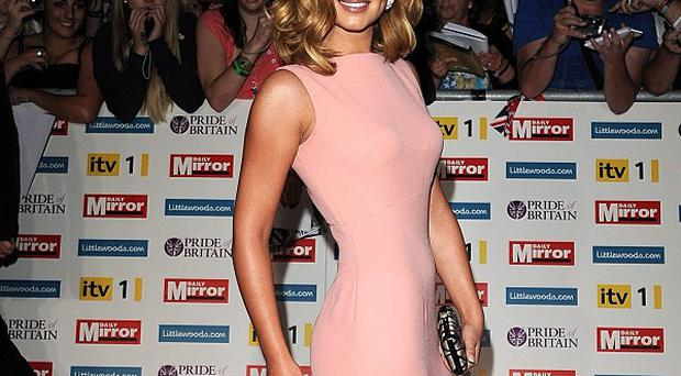Cheryl Cole arrives for the Pride of Britain awards at the Grosvenor House Hotel