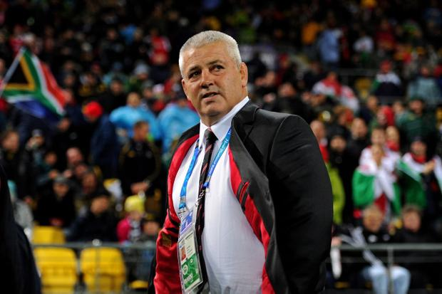Wales coach Warren Gatland will come up against his former team on Saturday in Wellington