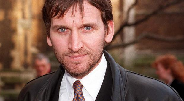 Actor Christopher Eccleston who has been nominated for an Emmy award