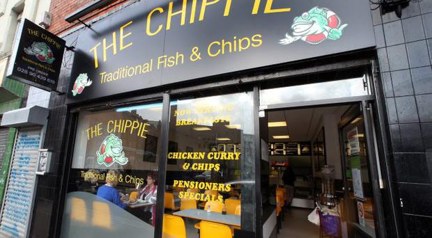 The Chippie, North Street, Belfast