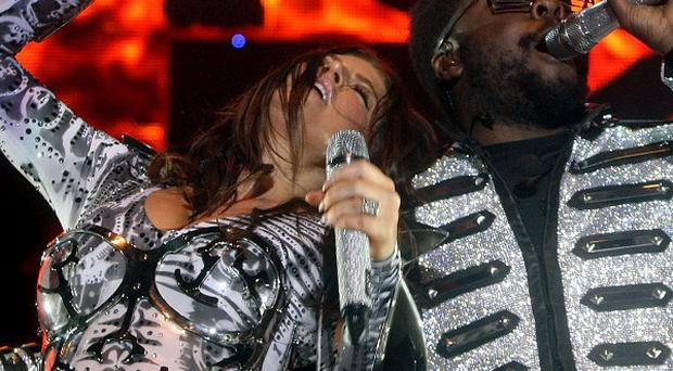 Black Eyed Peas performed a charity gig in New York