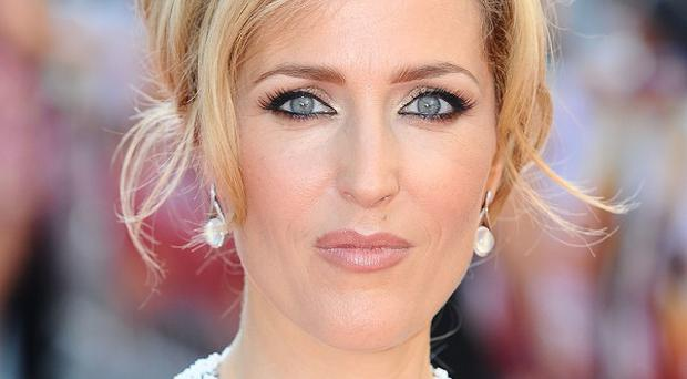 Gillian Anderson would like a more silly or clumsy role