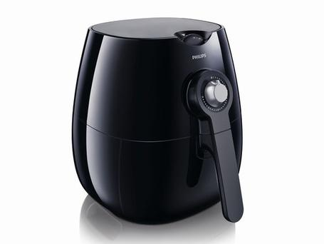 <b>1. Philips Airfryer</b><br/> No need to pile on the pounds with this machine, which combines circulating hot air with a grill to produce chips that contain 80 per cent less fat than conventional fryers. A food separator allows multiple foods to be cooked at the same time. <br/> <b>Price:</b> £129.77, amazon.co.uk