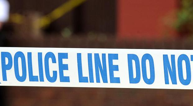 Two men have been arrested after a boy, 14, was stabbed in the neck following a row in a shop in Coventry