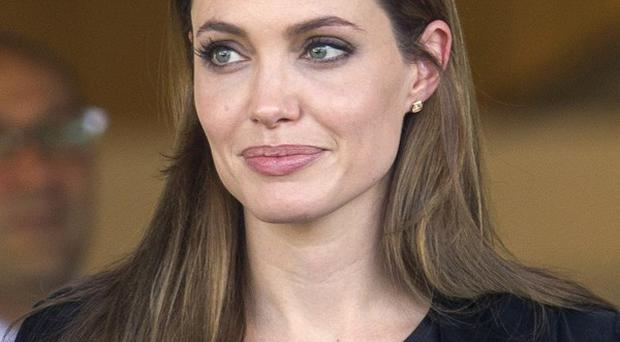 Angelina Jolie attended an awards ceremony in Switzerland
