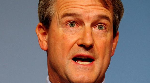 Secretary of State for Northern Ireland Owen Paterson