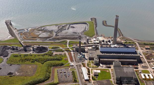 Kilroot power plant, where management has agreed a £38m re-financing deal. Managing Director Mark Miller says it gives flexibility and secures long-term finance needs