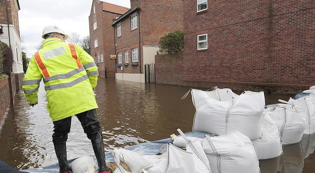 Areas likely to be home to large numbers of old people could be at risk from extreme weather such as floods