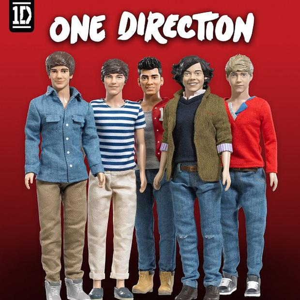 Fans can snap up their own One Direction dolls