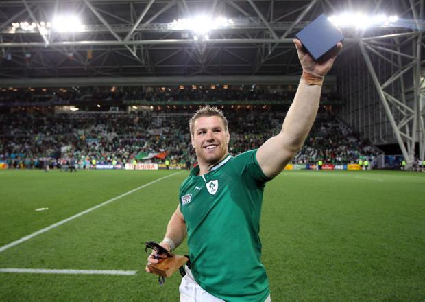 Sean O'Brien is having an exceptional World Cup