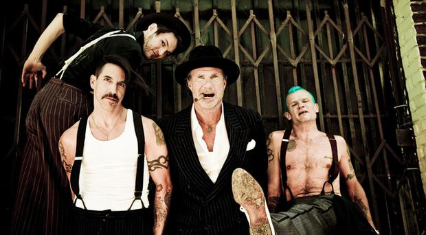 Belfast bound: Red Hot Chili Peppers