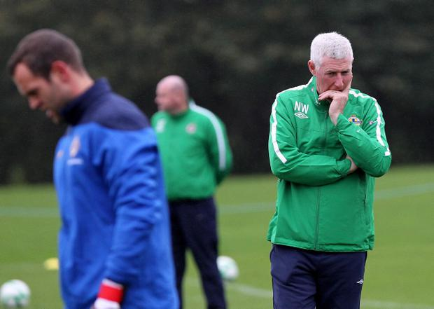 Northern Ireland boss Nigel Worthington