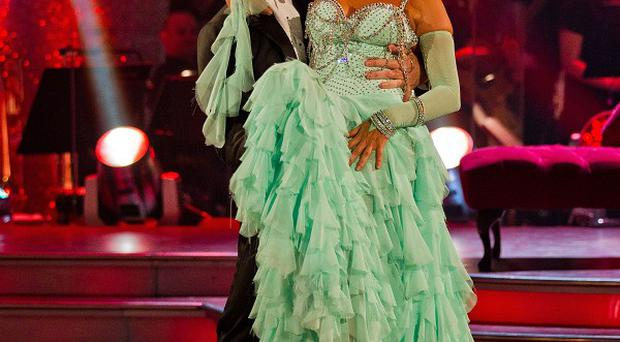 Nancy Dell'Olio's performance received just 12 points out of 40