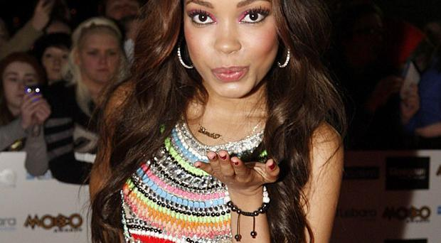 Dionne Bromfield led a tribute to her godmother Amy Winehouse at the Mobo Awards