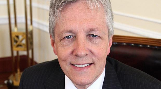 First Minister Peter Robinson said the appointment of a Commissioner for Older People in Northern Ireland was groundbreaking