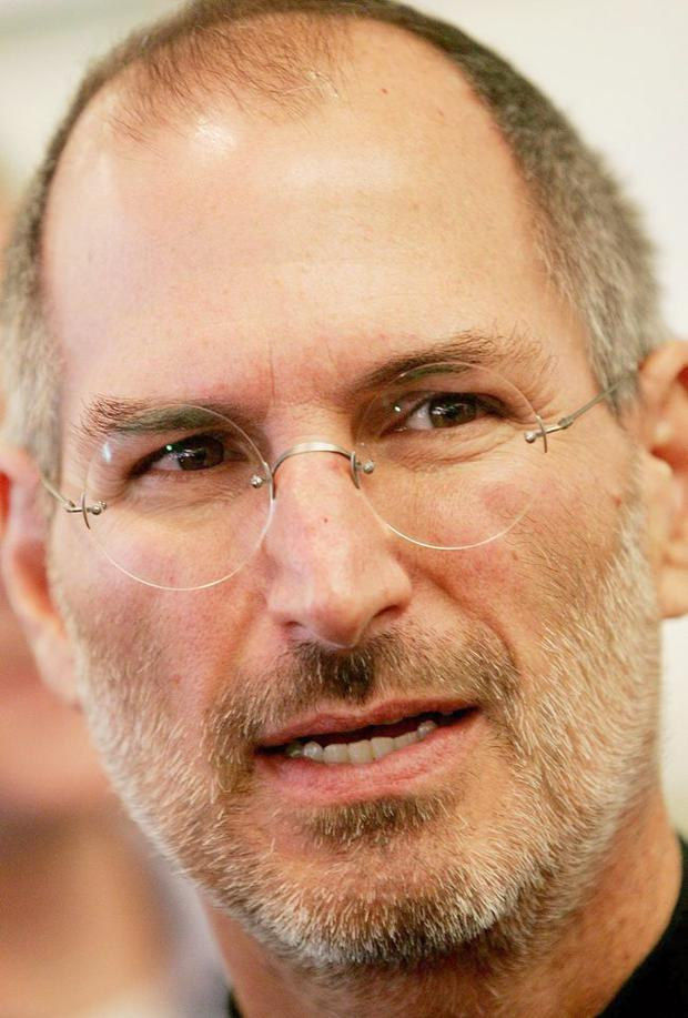Apple's Steve Jobs, who has died aged 56.