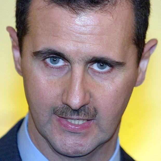 Syrian military defectors have said they plan to overthrow what they called president Bashar Assad's 'murderous' regime