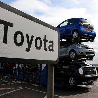 Toyota's global vehicle production has returned to pre-disaster levels, the company has announced