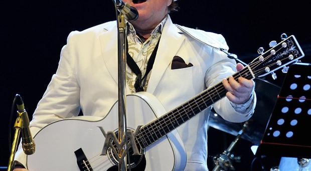 Van Morrison's song has proved a huge hit with fans