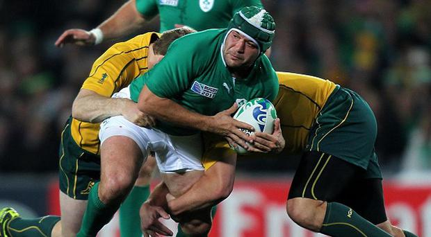 Rory Best (centre)