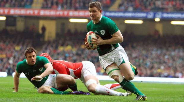 Ireland will hope that Brian O'Driscoll can repeat his try-scoring antics of earlier this year against Wales but will be hoping for a better outcome than the defeat at the Millennium Stadium