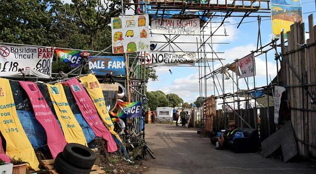 Dale Farm residents will now learn next Wednesday whether they have won or lost their High Court battle against eviction