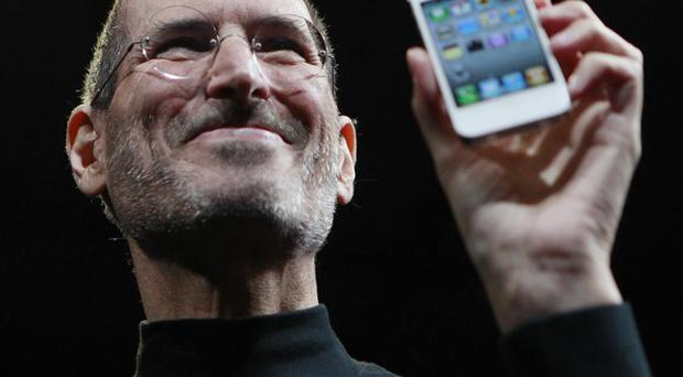 Pioneering businessman Steve Jobs, the mind behind the iPhone and iPad devices