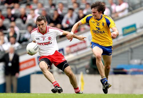 Philip Jordan is one of a handful of players who has still to confirm his availability for Tyrone's 2012 championship mission