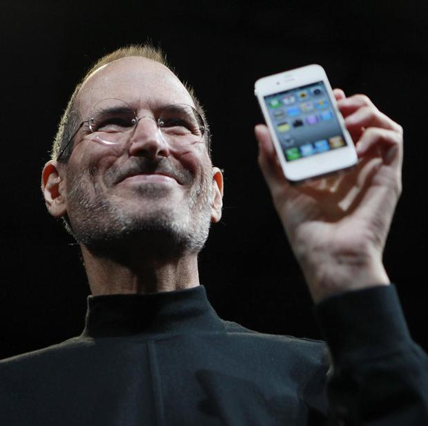 Apple CEO Steve Jobs, pictured here in 2010 at the Apple Worldwide Developers Conference in San Francisco, has died