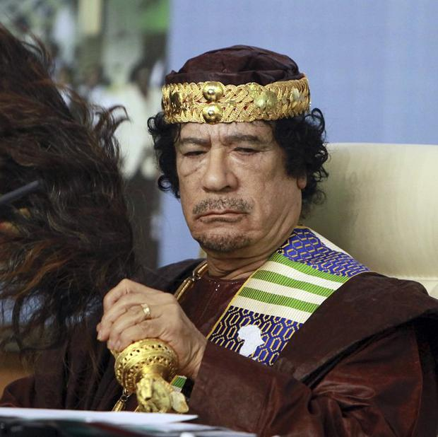 Muammar Gaddafi has issued a statement calling for resistance to Libya's new leaders (AP)