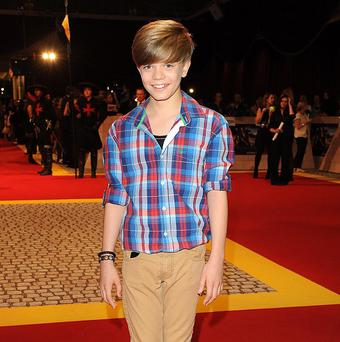 Ronan Parke says he doesn't think age is an issue when it comes to TV talent shows