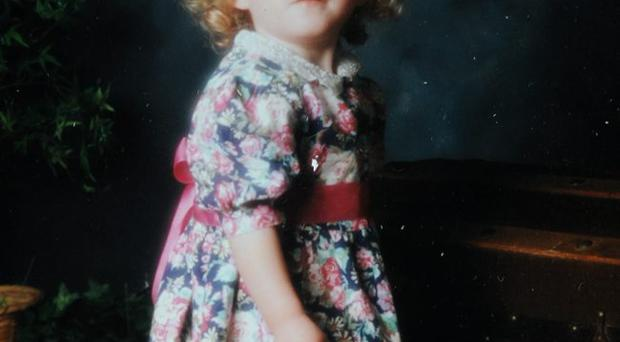 X Factor star Janet Devlin as a young girl.