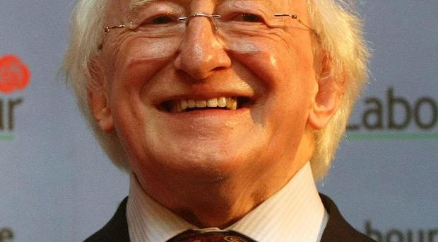 Opinion polls suggest Michael D Higgins could take a quarter of the vote in the presidential election