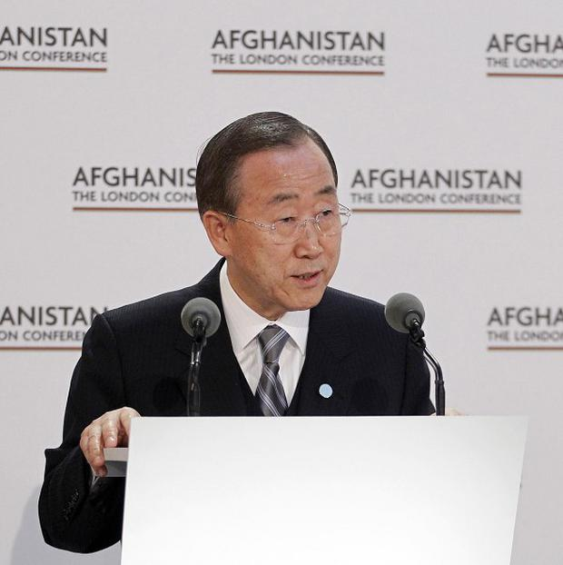 UN Secretary-General Ban Ki-moon ordered a global review of UN security arrangements