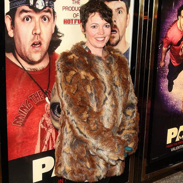 Olivia Colman plays Carol Thatcher on the big screen