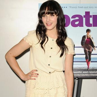 Jessica Brown Findlay stars in the new film Albatross