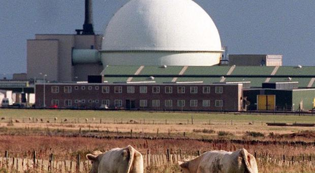 A radioactive leak has been found at the former Dounreay power station