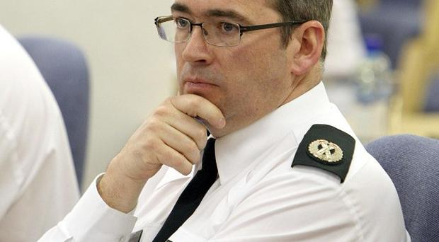 PSNI assistant chief constable Drew Harris said a bomb found in Belfast city centre could have been there for days